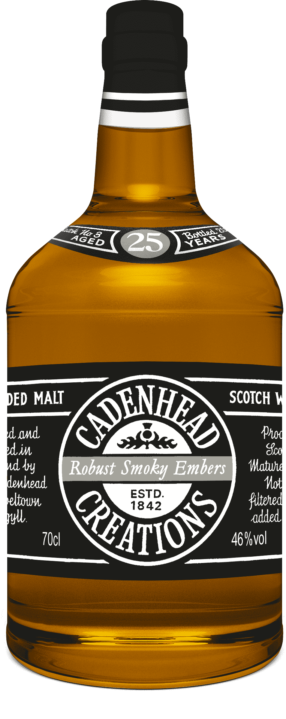 A Bottle of Cadenhead-Creations-Smoky