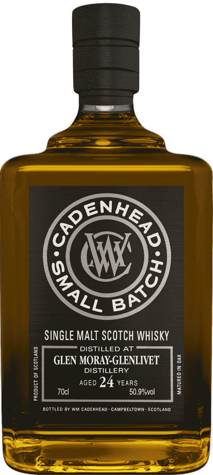 A Bottle of Glen-Moray-Glenlivet