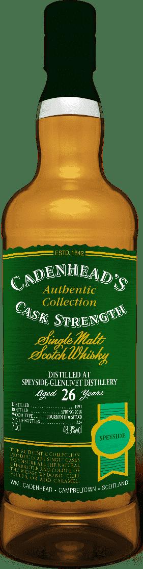 A Bottle of Speyside-glenl-26