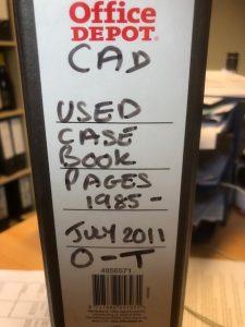 Cadenhead Bottling Archive Casebook