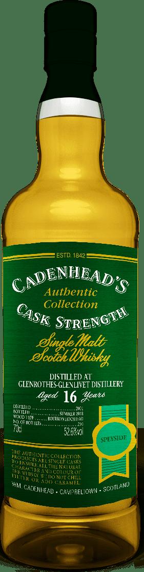 A Bottle of Glenrothes-16-YO