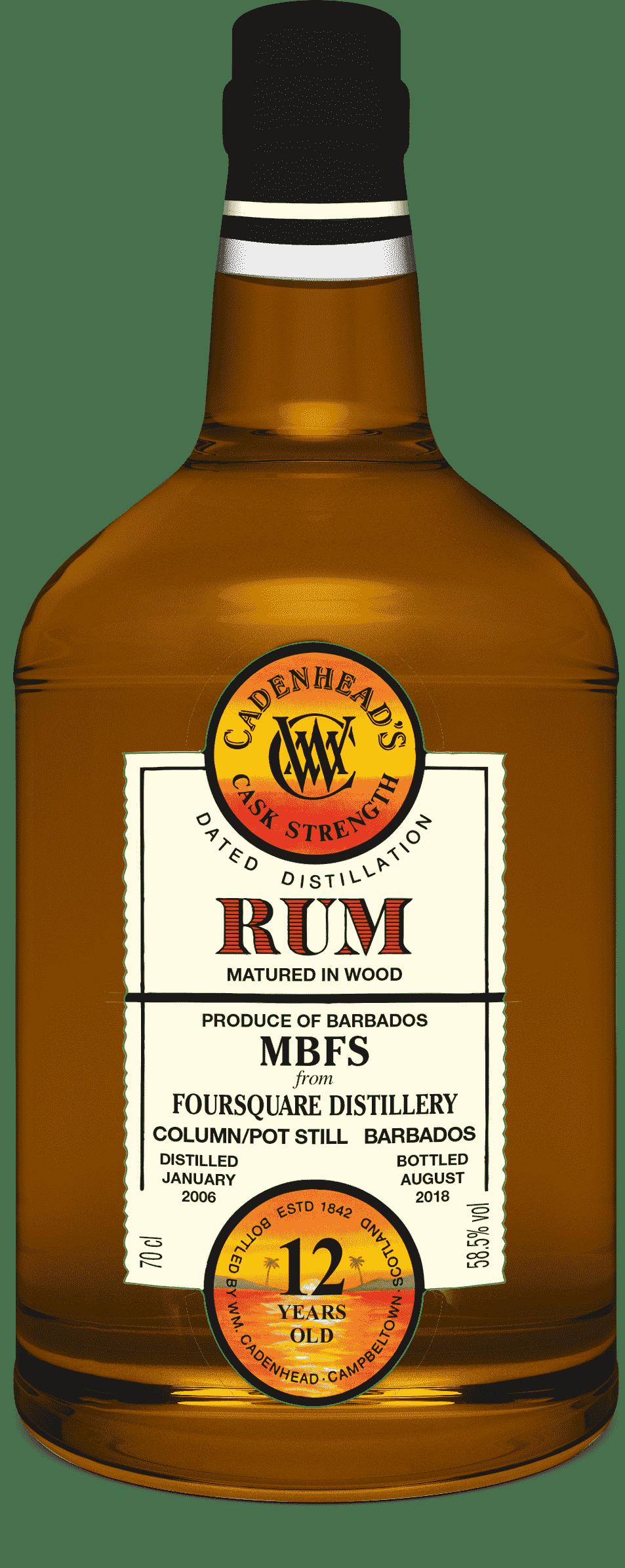 A Bottle of Barbados-Foursquare-12-YO