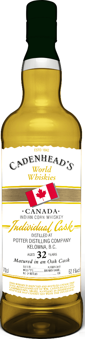 A Bottle of Canadian-32-YO