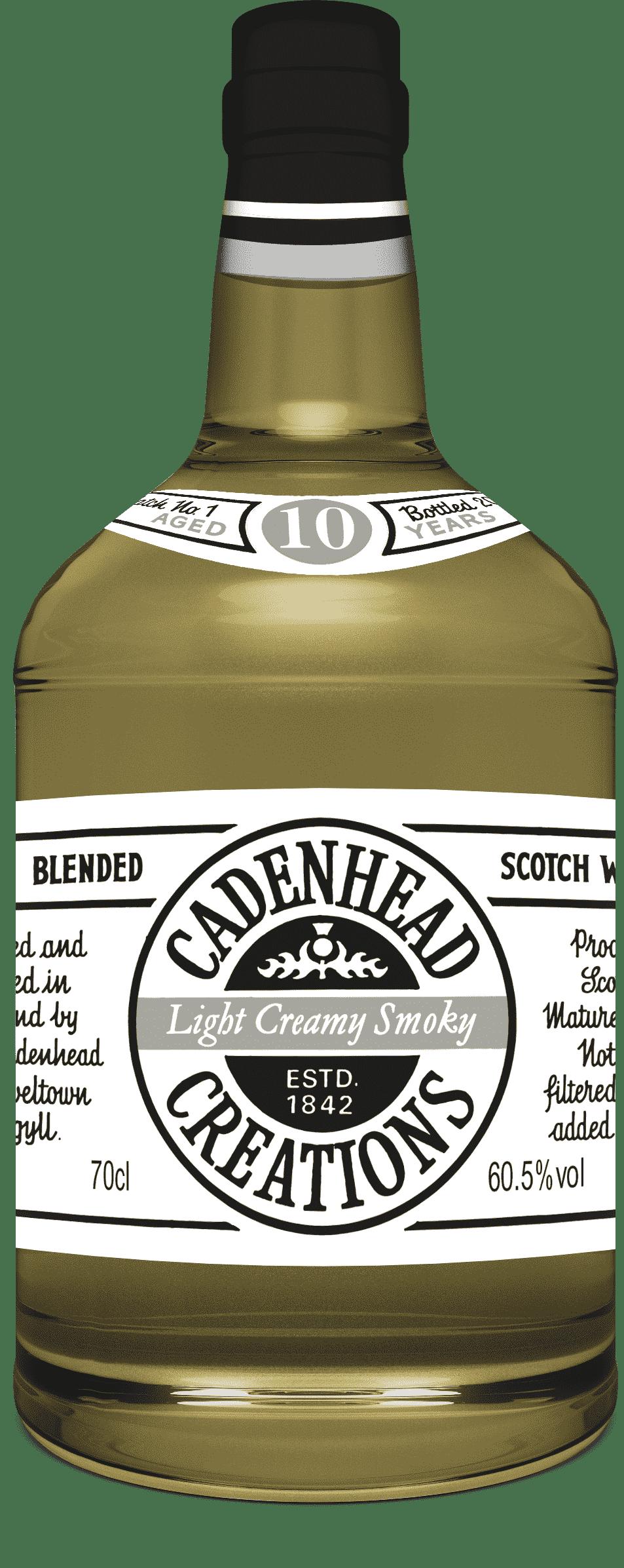 A Bottle of Light-Creamy-Smoky-10-YO