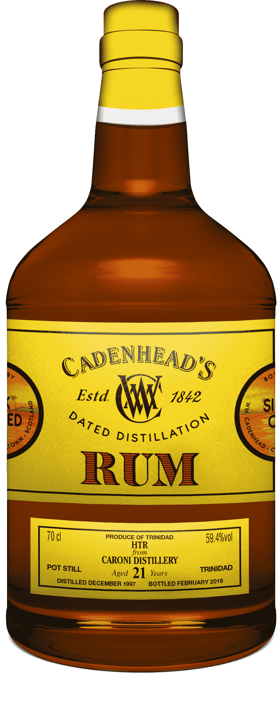 A Bottle of Dated-Distilled-Trinidad-59.4