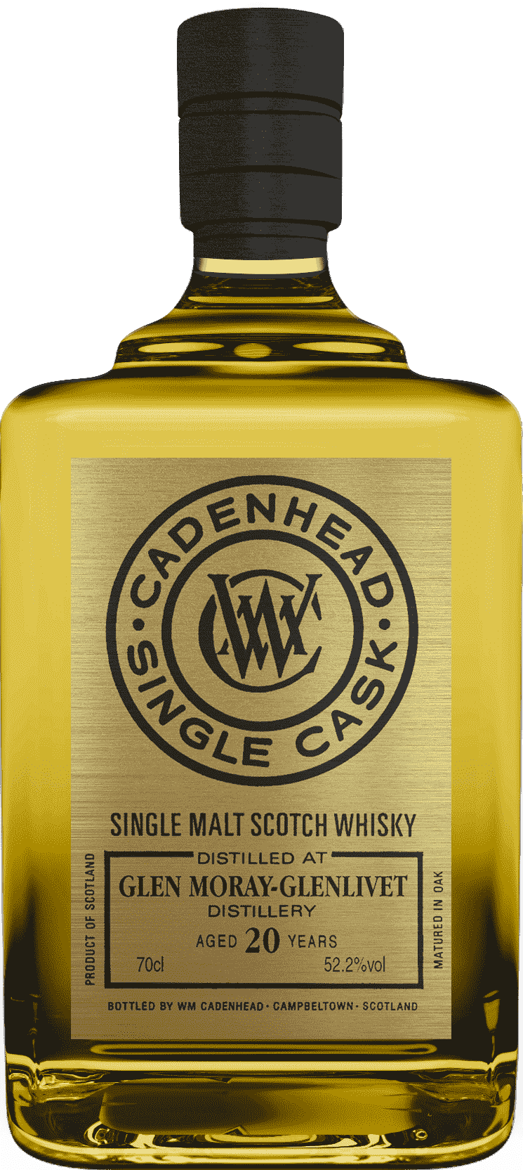 A Bottle of Glen-Moray-20-YO