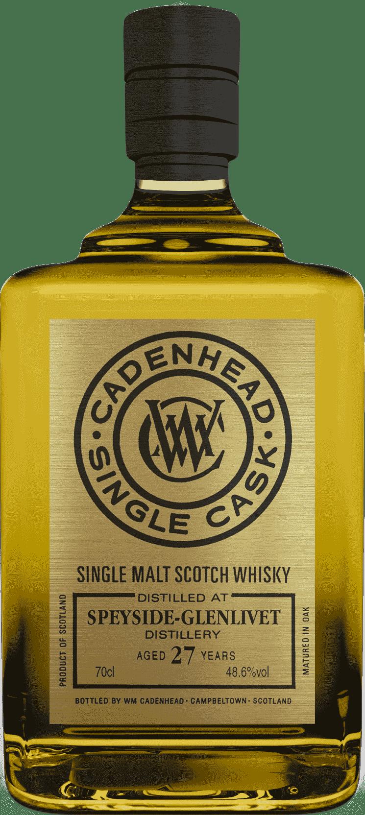 A Bottle of Speyside-27-YO