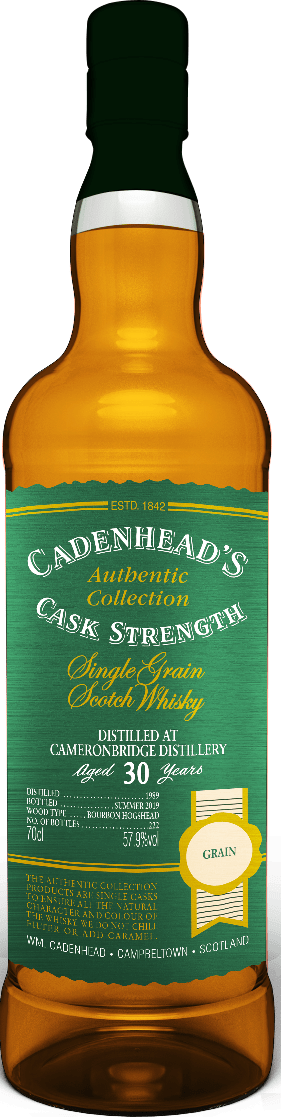 A Bottle of Cameronbridge-30-YO