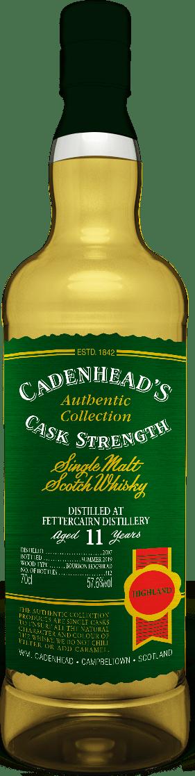 A Bottle of Fettercairn-11-YO