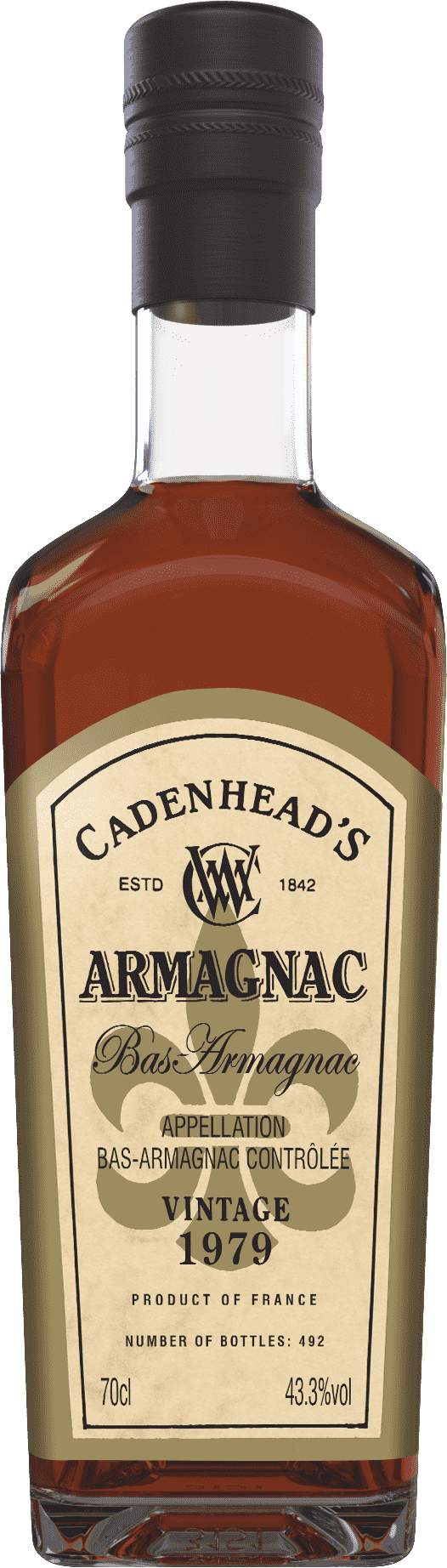 A Bottle of Armagnac-1974