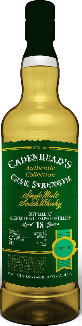 A Bottle of Glenrothes-18-YO