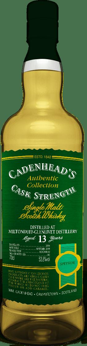 A Bottle of Miltonduff-13-YO