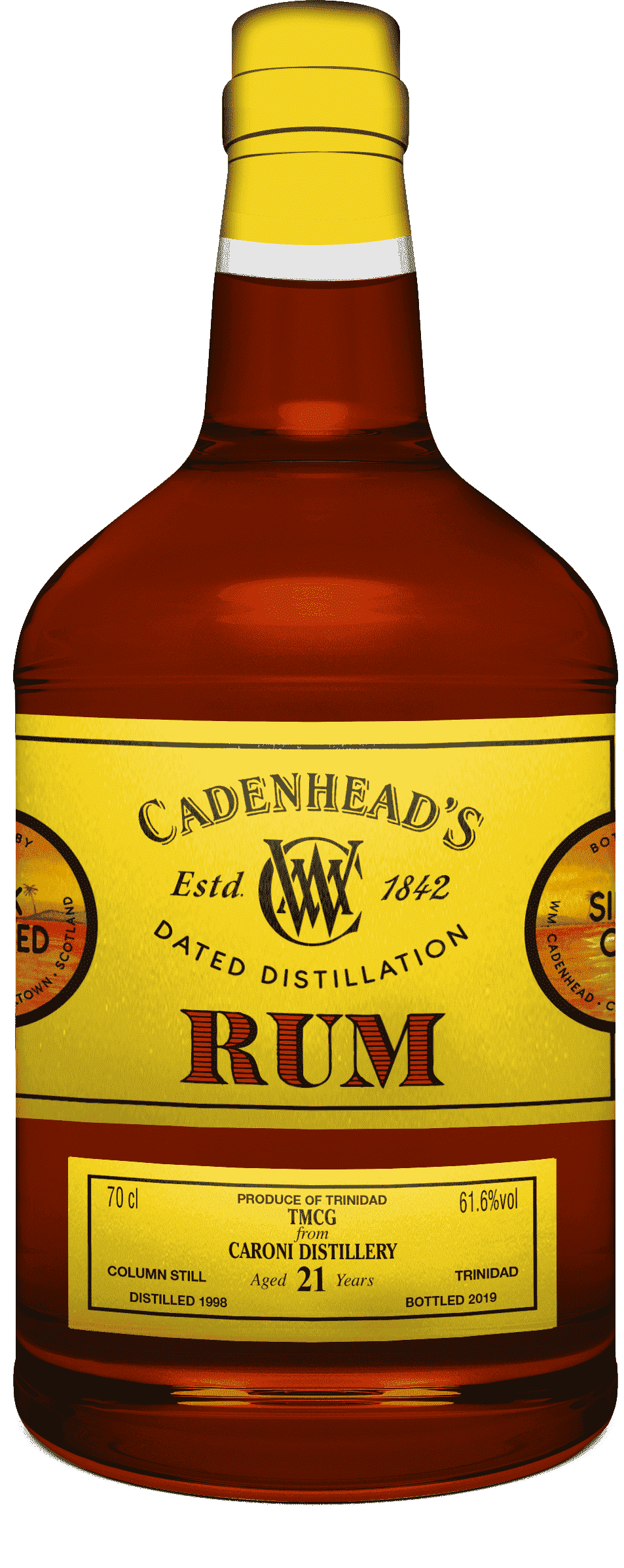 A Bottle of DD-Rum---Caroni