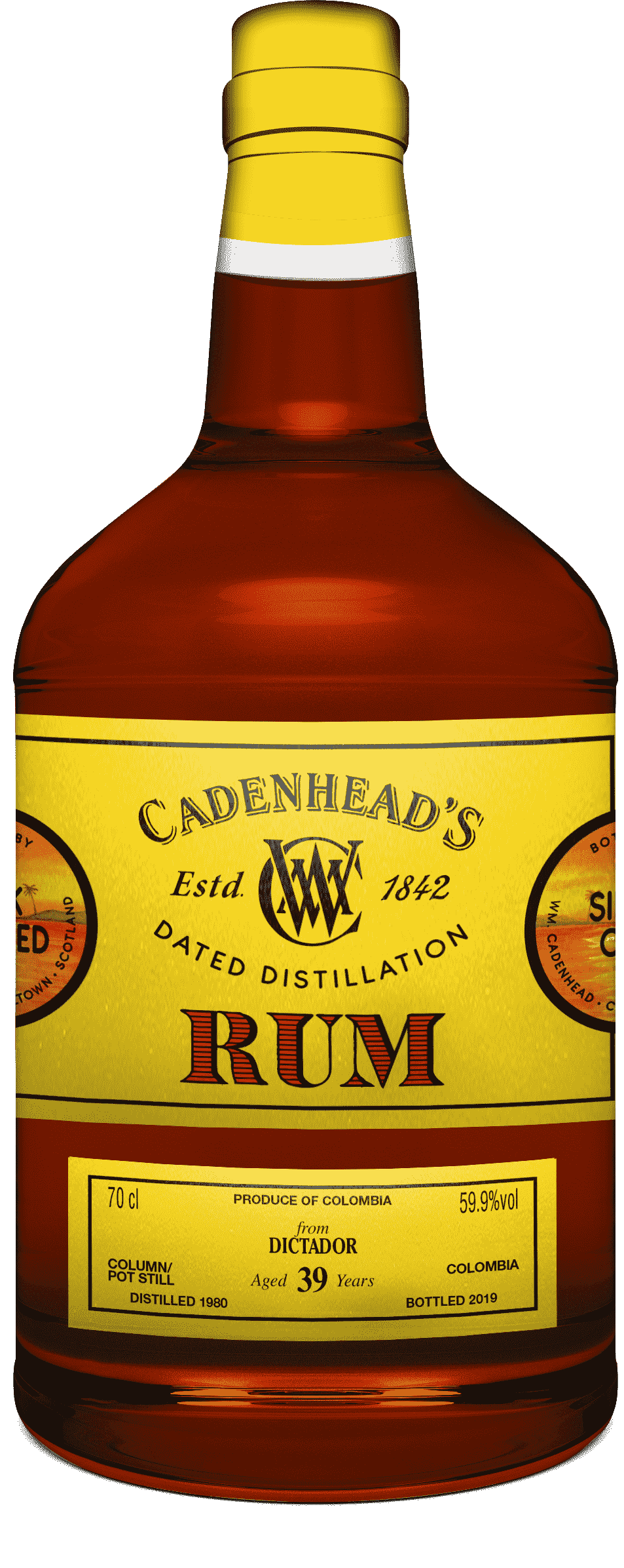 A Bottle of DD-Rum-Dictator-39-YO