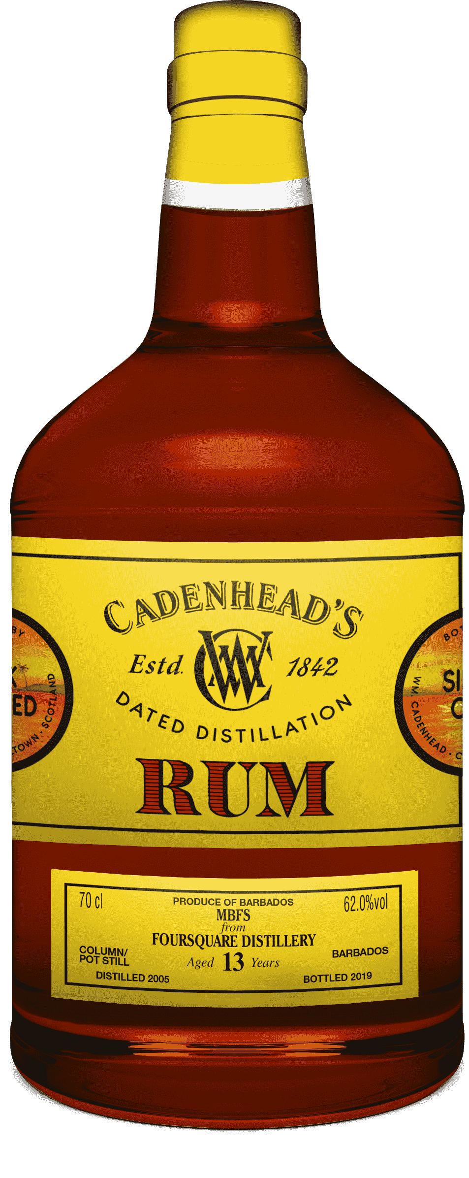A Bottle of DD-Rum-Foursquare