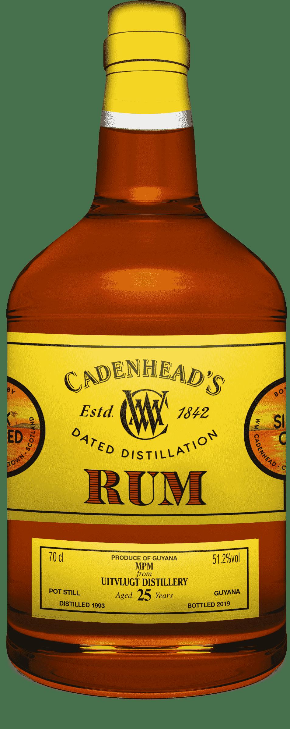 A Bottle of DD-Rum-Guyana