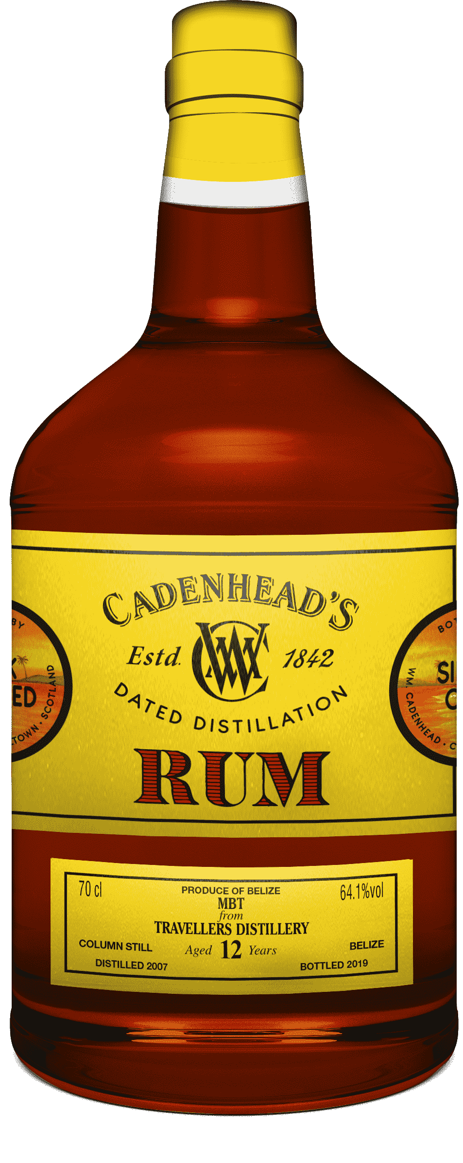 A Bottle of DD-Rum-Travellers