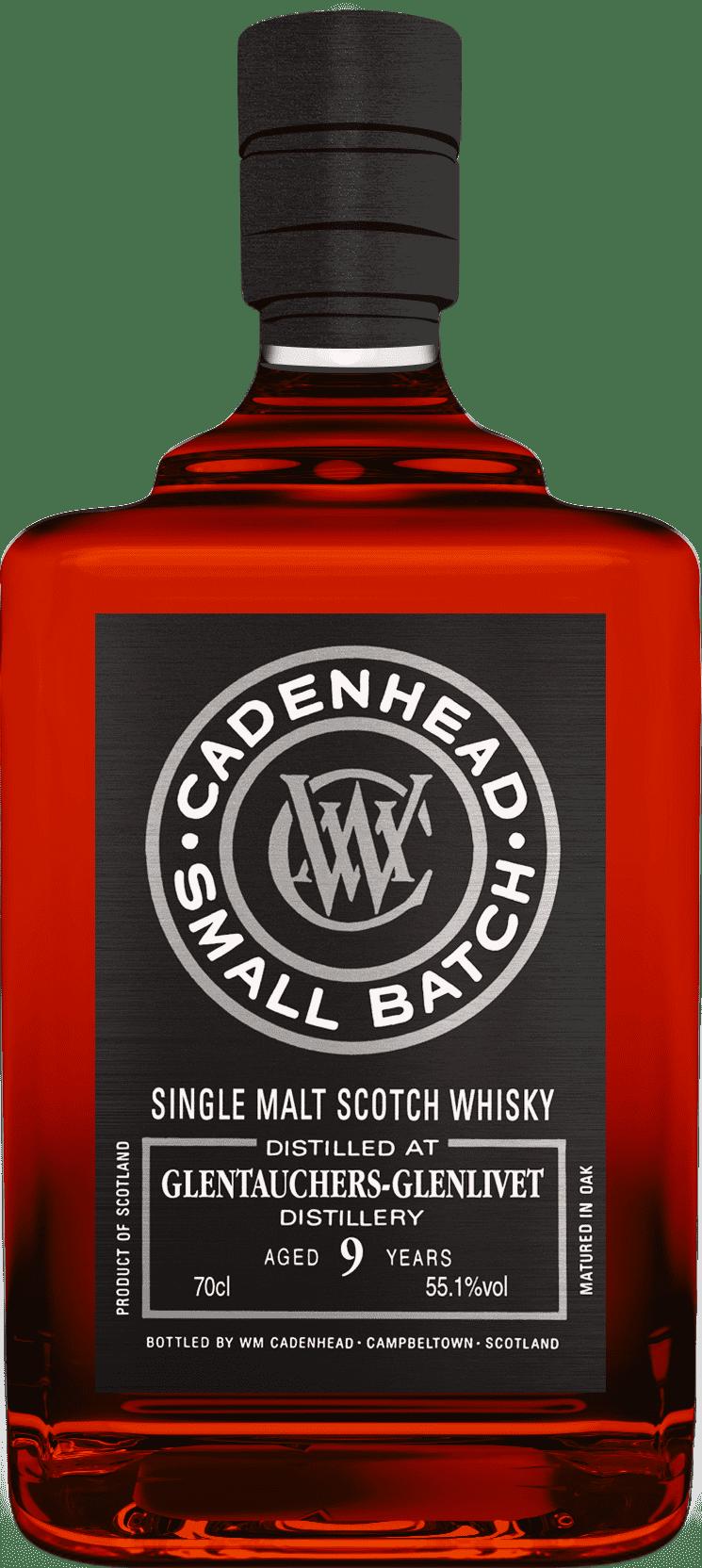 A Bottle of Glentauchers-9-YO