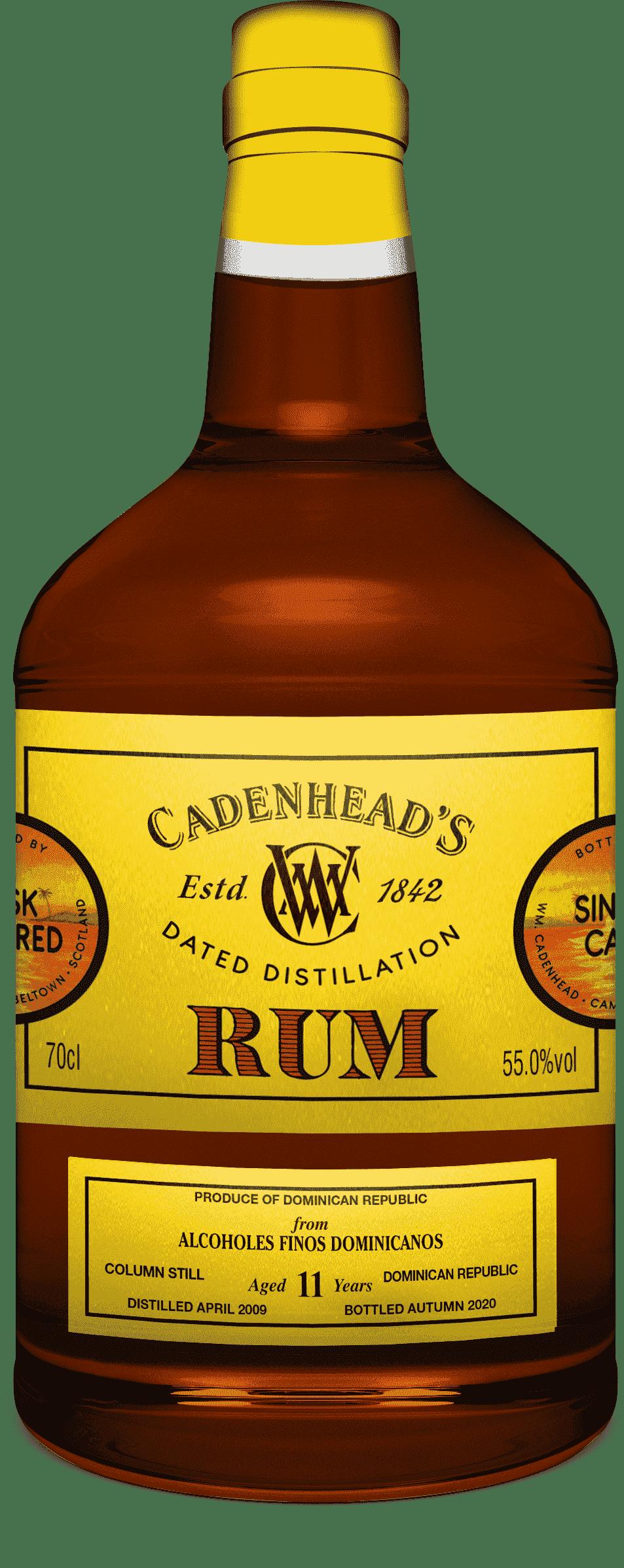 A Bottle of Dominican-Republic-11-YO-Rum-Autumn-2020