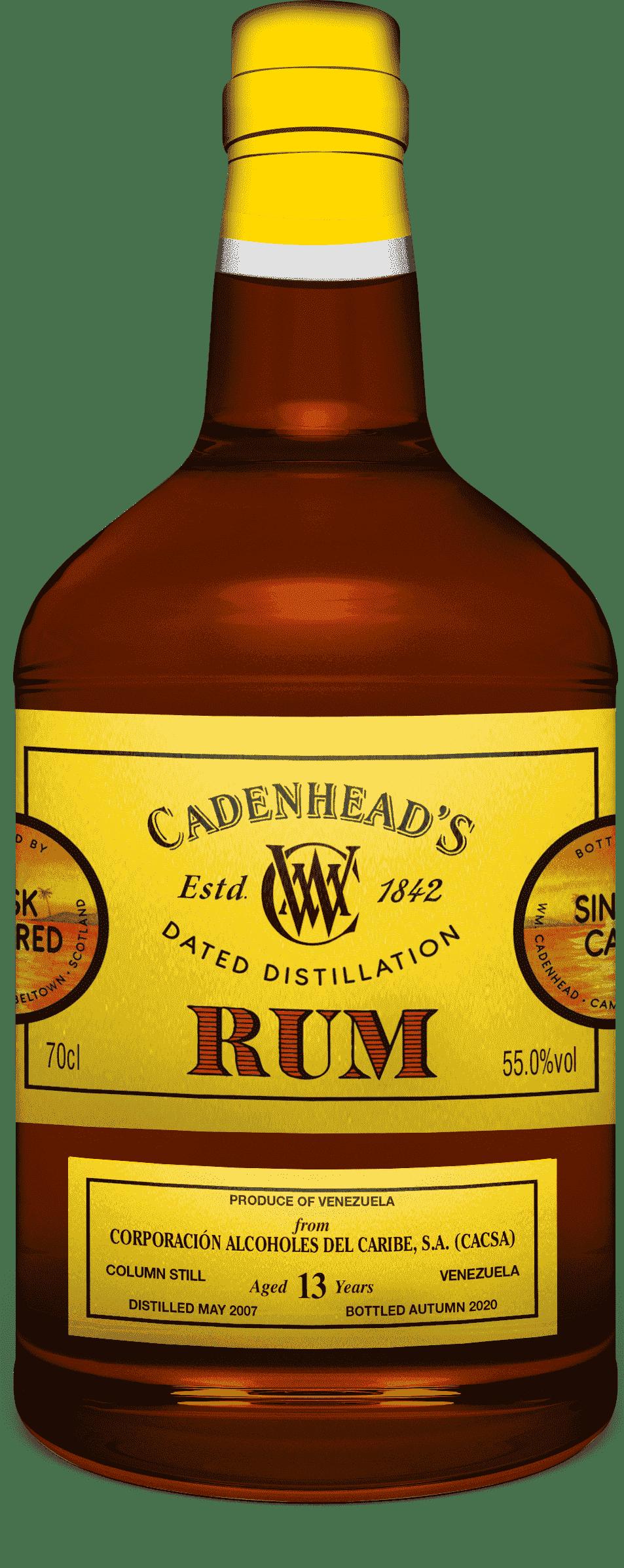 A Bottle of Venezuela-13-YO-Rum-Autumn-2020